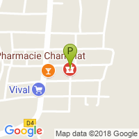 carte de la Pharmacie Champiat
