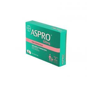 BAYER Aspro 320mg 60 comprimés