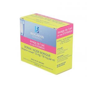 BIOGARAN Borax/acide borique 15 unidoses