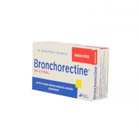 MAYOLY SPINDLER Bronchorectine citral adulte 10 suppositoires