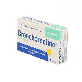 MAYOLY SPINDLER Bronchorectine citral enfant 10 suppositoires