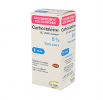 EG LABO Carbocistéine 5% adulte sans sucre solution buvable 1 flacon 200ml