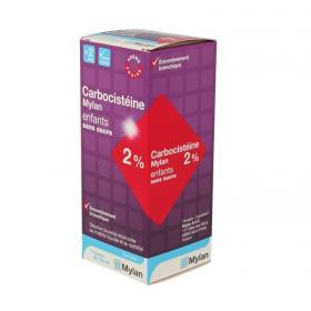 MYLAN Carbocisteine 2 % enfant sans sucre  125ml