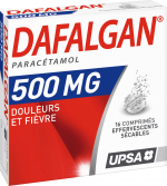 Dafalgan 500mg 16 comprimés effervescents sécables