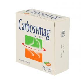 GRIMBERG Carbosymag boîte de 24 doses de 2 gélules jumelées