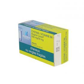 BIOGARAN Cystine/vitamine B6 conseil 500mg/50mg 120 comprimés pelliculés