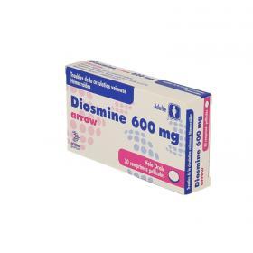 ARROW Diosmine 600mg 30 comprimés pelliculés