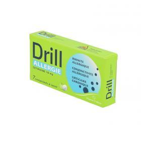 PIERRE FABRE Drill allergie cétirizine 10mg 7 comprimés à sucer