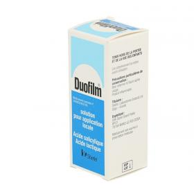 GLAXO SMITH KLINE Duofilm solution pour application locale 15ml