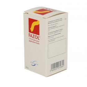 SINCLAIR PHARMA Fazol 2% poudre pour application locale flacon poudreur de 30g