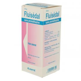 ELERTE Fluisedal sans prométhazine sirop 250ml
