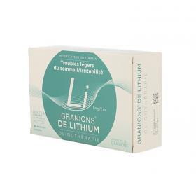 EA PHARMA Granions de lithium 1mg/2ml solution buvable 30 ampoules