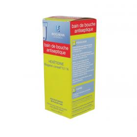 BIOGARAN Hexéditine conseil 0,1% solution pour bain de bouche flacon de 400ml