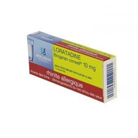 BIOGARAN Loratadine 10mg 7 comprimés