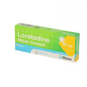 MYLAN Loratadine 10mg 7 comprimés