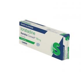 SANDOZ Loratadine conseil 10mg boîte de 7 comprimés