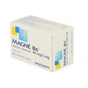 SANOFI Magne B6 48mg/5mg 50 comprimés enrobés