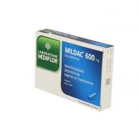 MERCK Mildac 600mg 15 comprimés enrobés