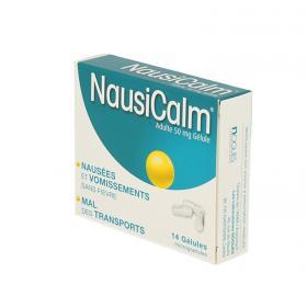 NOGUES Nausicalm adultes 50mg 14 gélules