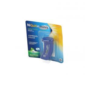 NIQUITIN Minis menthe fraîche 1,5mg sans sucre 1 tube de 20 comprimés à sucer