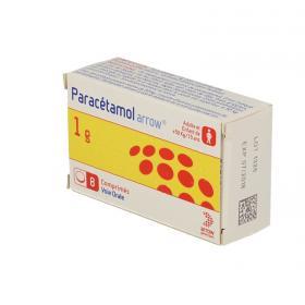 ARROW Paracétamol 1g boîte de 8 comprimés