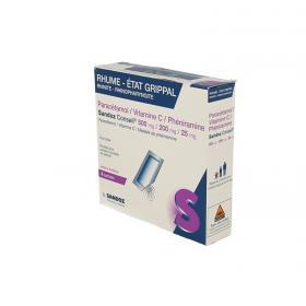 SANDOZ Paracetamol vitamine C pheniramine 8 sachets