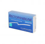 MEDA PHARMA Rectopanbiline adultes boîte de 10 suppositoires