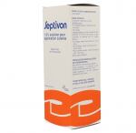 OMEGA PHARMA Septivon 1,5% solution pour application cutanée flacon de 500ml