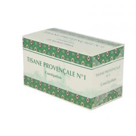 LA TISANE PROVENCALE Tisane provencale n°1 plantes pour tisane boîte de 24 sachets-dose