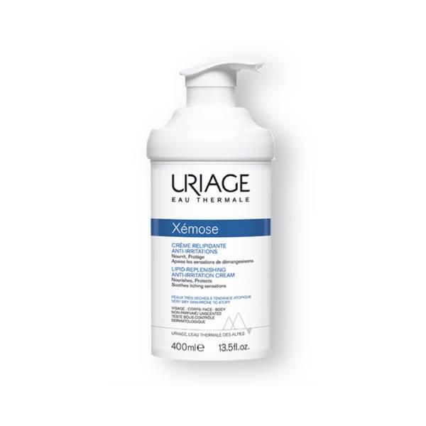 uriage x mose cr me relipidante anti irritations 400ml parapharmacie pharmarket. Black Bedroom Furniture Sets. Home Design Ideas