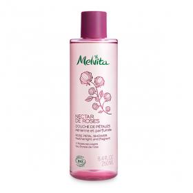MELVITA Nectar de roses douche de pétales 250ml