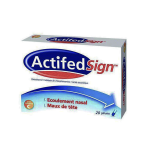 JOHNSON & JOHNSON Actifed sign boîte de 20 gélules