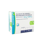BIOGARAN Alginate de sodium/bicarbonate de sodium 500mg/267mg pour 10 ml, suspension buvable, boîte de 24 sachets de 10ml