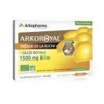 ARKOPHARMA Arko royal gelée royale 1500 mg bio 20 ampoules de 10 ml