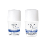 VICHY Déodorant 24h toucher sec bille lot de 2 x 50 ml