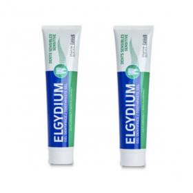ELGYDIUM Dentifrice dents sensibles lot 2x75 ml