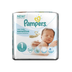 PAMPERS New baby sensitive taille 1 23 couches