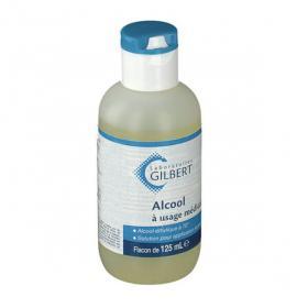 GILBERT Alcool à usage médical solution pour application locale flacon de 125 ml
