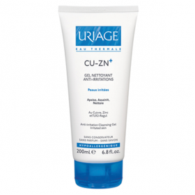 Cu-zn+ gel nettoyant anti irritations 200ml