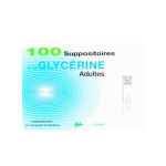 EVOLUPHARM Suppositoires à la glycérine adultes 4 sachets de 25 suppositoires