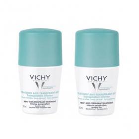 VICHY Déodorant traitement anti transpirant 48h lot 2x50ml