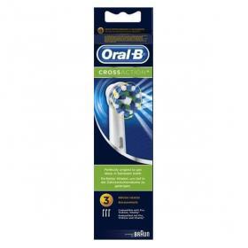 ORAL B Crossaction 3 brossettes de rechange