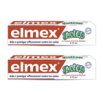 ELMEX Dentifrice junior lot de 2x75ml