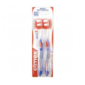 ELMEX InterX duo pack souple 2 brosses à dents