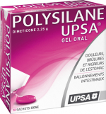 Polysilane gel oral 12 sachets dose