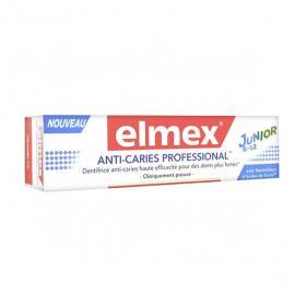 ELMEX Dentifrice anti-caries professional junior 75ml