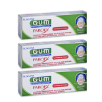 G.U.M Paroex dentifrice lot 3x75ml