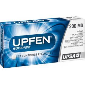 UPSA Upfen 200mg 20 comprimés pelliculés