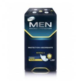 TENA Men discreet medium niveau 2 20 protections absorbantes