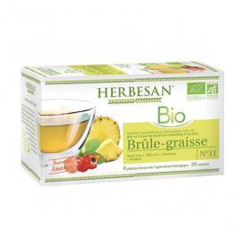 HERBESAN Bio brûle-graisse 20 sachets